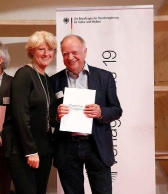 Deutscher Verlagspreis MG HL, Copyright: Bundesregierung: Reimold