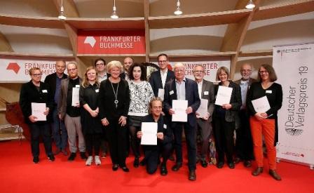 Deutscher Verlagspreis 10er Gruppe Mabuse,  Copyright: Bundesregierung: Reimold