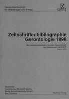 Mabuse Zeitschriftenbibliographie Gerontologie 1998