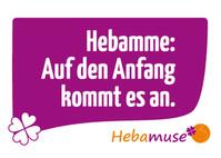 Hebamuse Postkarte Hebamme Anfang