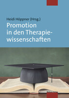 Mabuse Promotion in den Therapiewissenschaften
