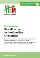 Mabuse Gewalt in der institutionellen Altenpflege